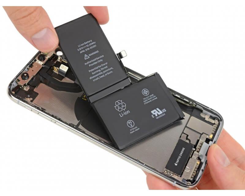 iPhone X Batarya